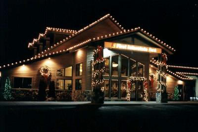 commercial christmas light installation in st louis