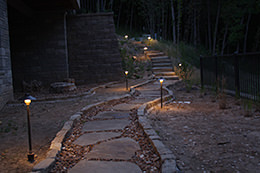 St. Louis Landscape Lighting Design