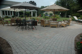 Paver patios and walkways add beauty and outdoor living space to your home