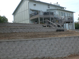Commercial landscaping services for businesses and homebuilders